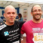 Gonzalo Mora en la Media Maratón de Logroño