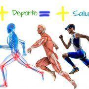 Más deporte es igual a más salud