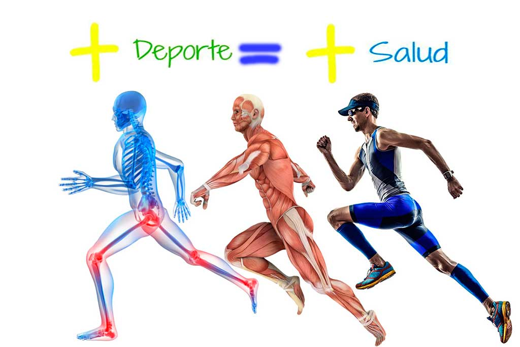 Resultado de imagen de deporte y salud